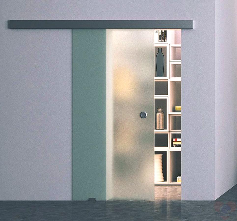 Дверь автоматическая раздвижная стеклянная