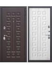 Входная дверь Монарх - панель белый Ясень