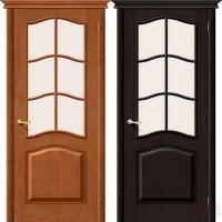 Дверь из массива сосны М-7 ДО сатинато