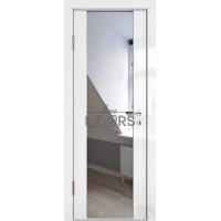 Дверь межкомнатная Белый глянец Диана Зеркало