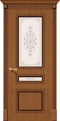 Дверь межкомнатная шпонированная Стиль-П ДО орех