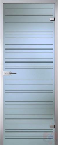 Дверь стеклянная межкомнатная Грация