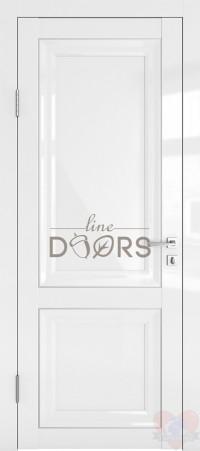Дверь межкомнатная Белый глянец ДГ-ПГ1