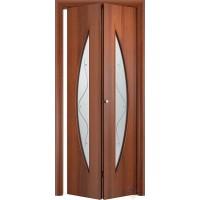 Складная межкомнатная дверь книжка С6(О)Ф