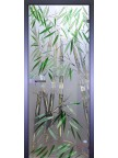 Стеклянная дверь Бамбуковая роща