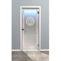 Дверь стеклянная межкомнатная Версаль - Стекло матовое