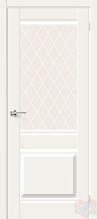 Дверь Хард Флекс Прима-3 White Mix