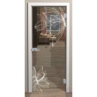 Дверь стеклянная межкомнатная Глория - Стекло прозрачное