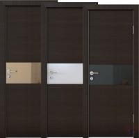 Дверь межкомнатная пвх ДО-501 Венге поперечный