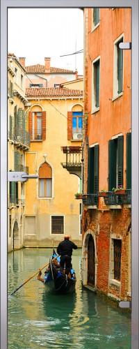 Межкомнатная стеклянная дверь Венеция
