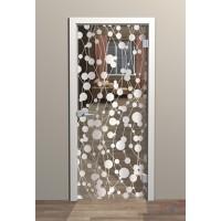 Дверь стеклянная межкомнатная Флос - Стекло прозрачное