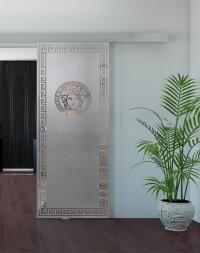 Одинарная раздвижная стеклянная дверь Mirra