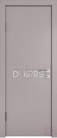 Дверь межкомнатная ДГ-500 Серый бархат