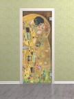 Стеклянная межкомнатная дверь Климт - Стекло прозрачное осветленное