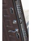 Дверь металлическая Изотерма-11 - панель Венге