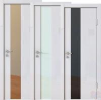 Дверь межкомнатная пвх ДО-504 Белый глянец