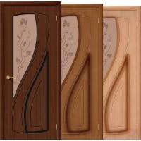 Дверь межкомнатная шпонированная Лагуна ДО