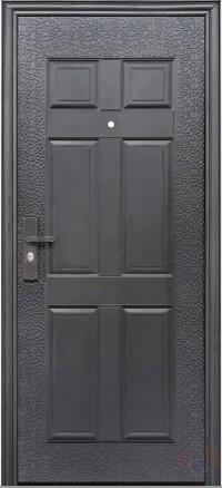 Дверь металлическая эконом, модель К13 внутреннее открывание