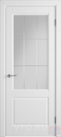 Дверь эмалированная белая Доррен ДО