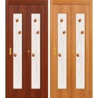 Складная ламинированная дверь книжка 22Х