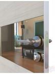 Дверь межкомнатная пвх ДО-501 Ива светлая - Зеркало бронза