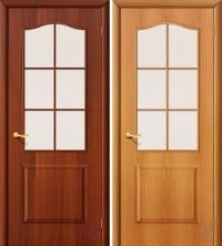 Дверь ламинированная Классик со стеклом