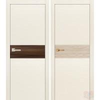 Дверь межкомнатная экошпон Даллас-1 Ясень белый
