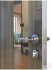 Дверь межкомнатная пвх ДО-504 Сосна глянец - Зеркало бронза