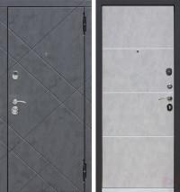 Дверь металлическая Бруклин Бетон пепельный