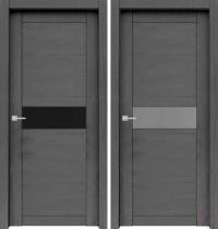 Дверь Велюкс 02 Soft touch Ясень грей