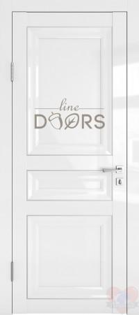 Дверь межкомнатная Белый глянец ДГ-ПГ3