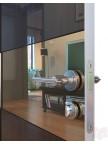 Дверь межкомнатная пвх ДО-501 Венге глянец - Зеркало бронза