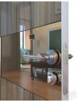 Дверь межкомнатная пвх ДО-501 Сосна глянец - Зеркало бронза