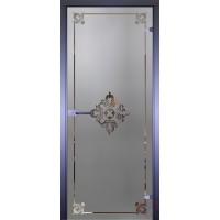 Дверь стеклянная межкомнатная Mirra - Рамка-1