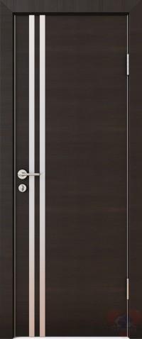 Дверь межкомнатная пвх ДГ-506 Венге поперечный