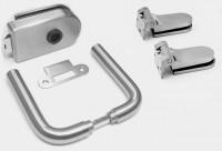 Комплект фурнитуры для стеклянных дверей DNW магнит