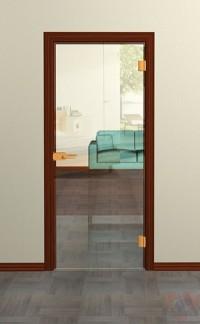 Стеклянная дверь Лайт оптивайт - Стекло прозрачное осветленное
