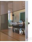 Дверь межкомнатная пвх ДО-501 Анегри темный глянец - Зеркало бронза