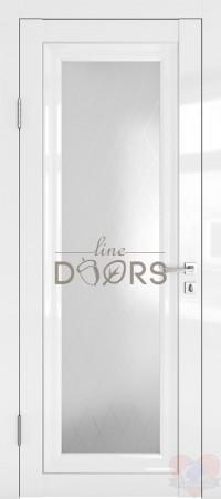 Дверь межкомнатная Белый глянец ДО-ПГ6