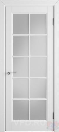 Дверь эмалированная белая Гланта ДО