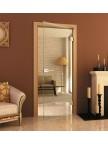 Стеклянная межкомнатная дверь Диамант - Стекло прозрачное