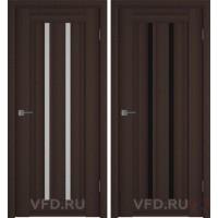 Дверь межкомнатная экошпон Line-2 Венге