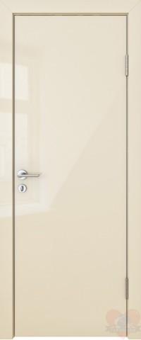 Дверь межкомнатная пвх ДГ-500 Ваниль глянец