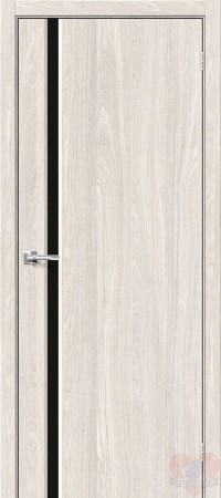 Дверь Хард Флекс Мода-11 Black Line Ash White