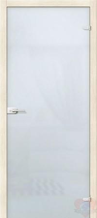 Дверь стеклянная межкомнатная триплекс Лайт матовая