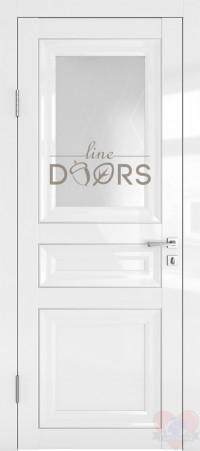 Дверь межкомнатная Белый глянец ДО-ПГ4