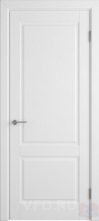 Дверь эмалированная Доррен ДГ белая