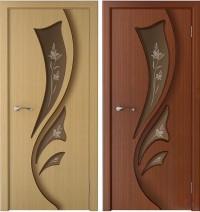 Дверь межкомнатная Лидия ДО шпон