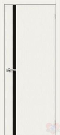 Дверь Хард Флекс Мода-11 Black Line White Mix