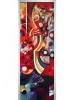 Стеклянная дверь Painting-19 матовое бесцветное